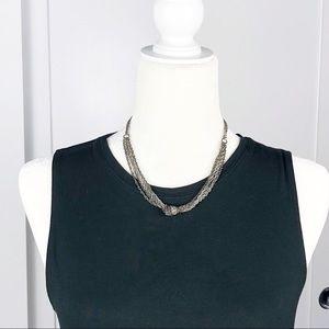 RACHEL Rachel Roy Multi-Strand Knot Necklace